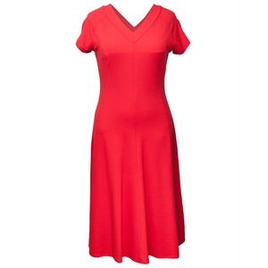 Beautiful Talbots Red Dress